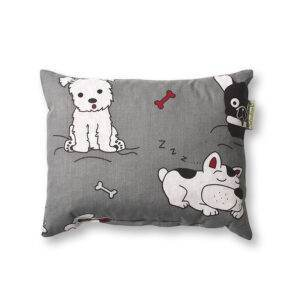 Kutyafalka, gyógynövényes alvó/pihenőpárna 4-féle gyógynövénnyel 18x23 cm