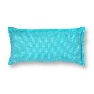 Türkiz pitypang, gyógynövényes alvó/pihenőpárna 10-féle gyógynövénnyel 30x60 cm