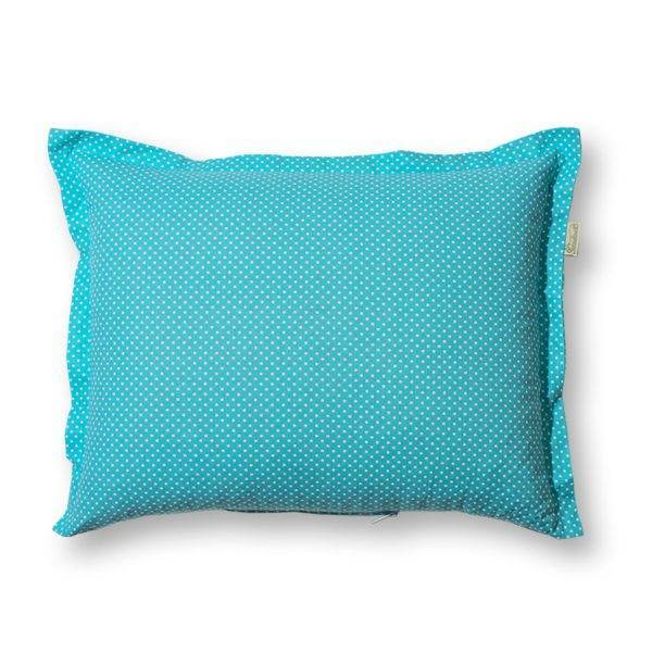 Türkiz pitypang, gyógynövényes alvó/pihenőpárna 10-féle gyógynövénnyel 35x45 cm
